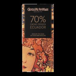 Chocolate 70% Cacao Ecuador...