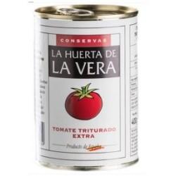 Tomate triturado extra LA HUERTA DE LA VERA lata