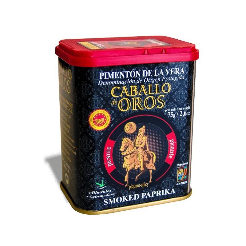 Pimentón de La Vera PICANTE 75 g Caballo de Oro