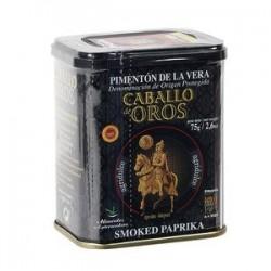Pimentón de La Vera AGRIDULCE 75g Caballo de Oro