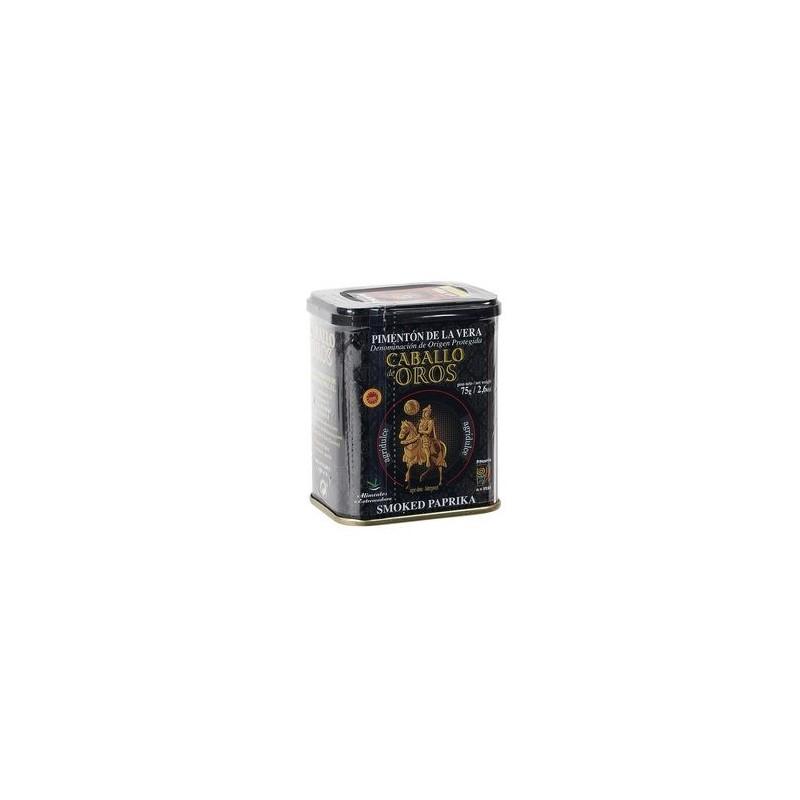 Pimentón de La Vera AGRIDULCE 75 g Caballo de Oro