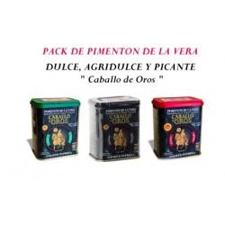 PACK PIMENTON DE LA VERA....